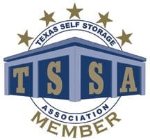 Member of Texas Self Storage Association