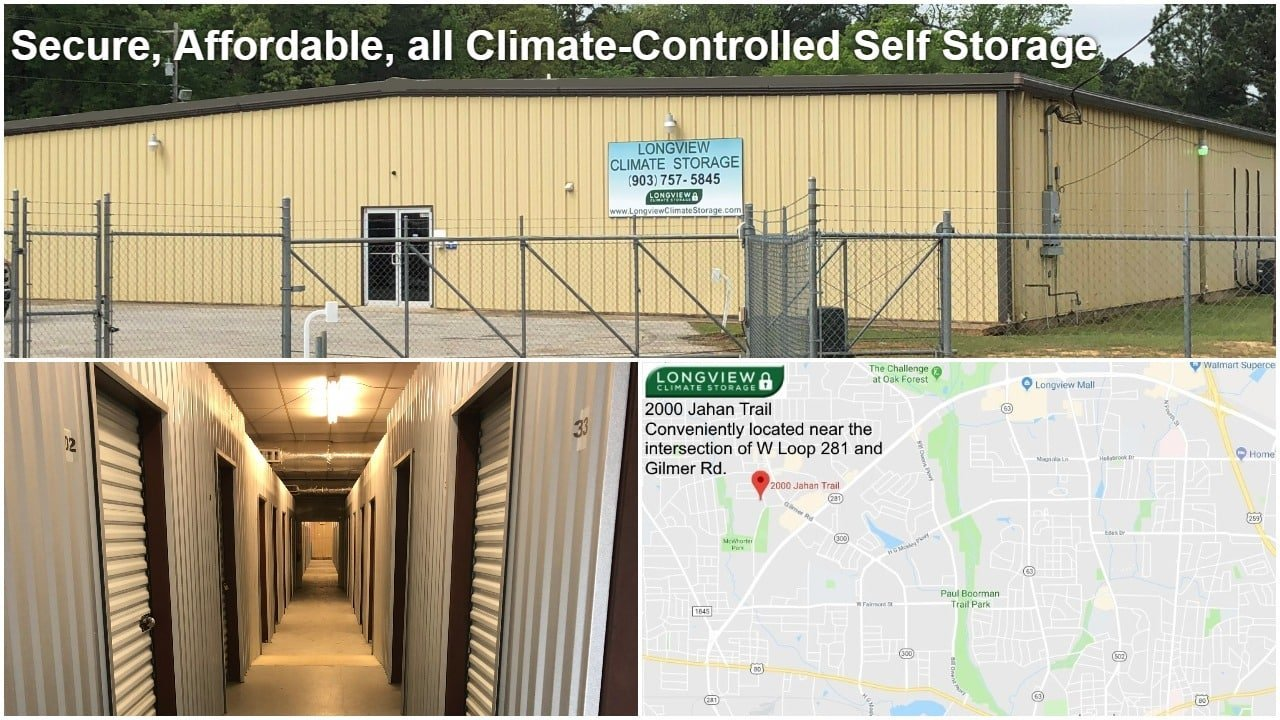 Secure, Affordable, all Climate Controlled Self Storage