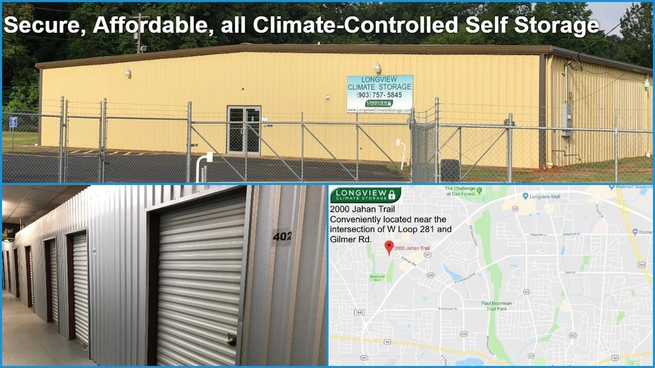 Secure, Affordable, Climate-Controlled Storage
